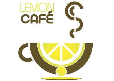 Logotipo Cafeteria Lemon Cafe